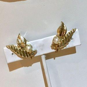 ❇️Vintage GENUINE PEARL Earrings